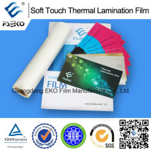 Soft Touch Thermal Laminating Film for Eko Brand