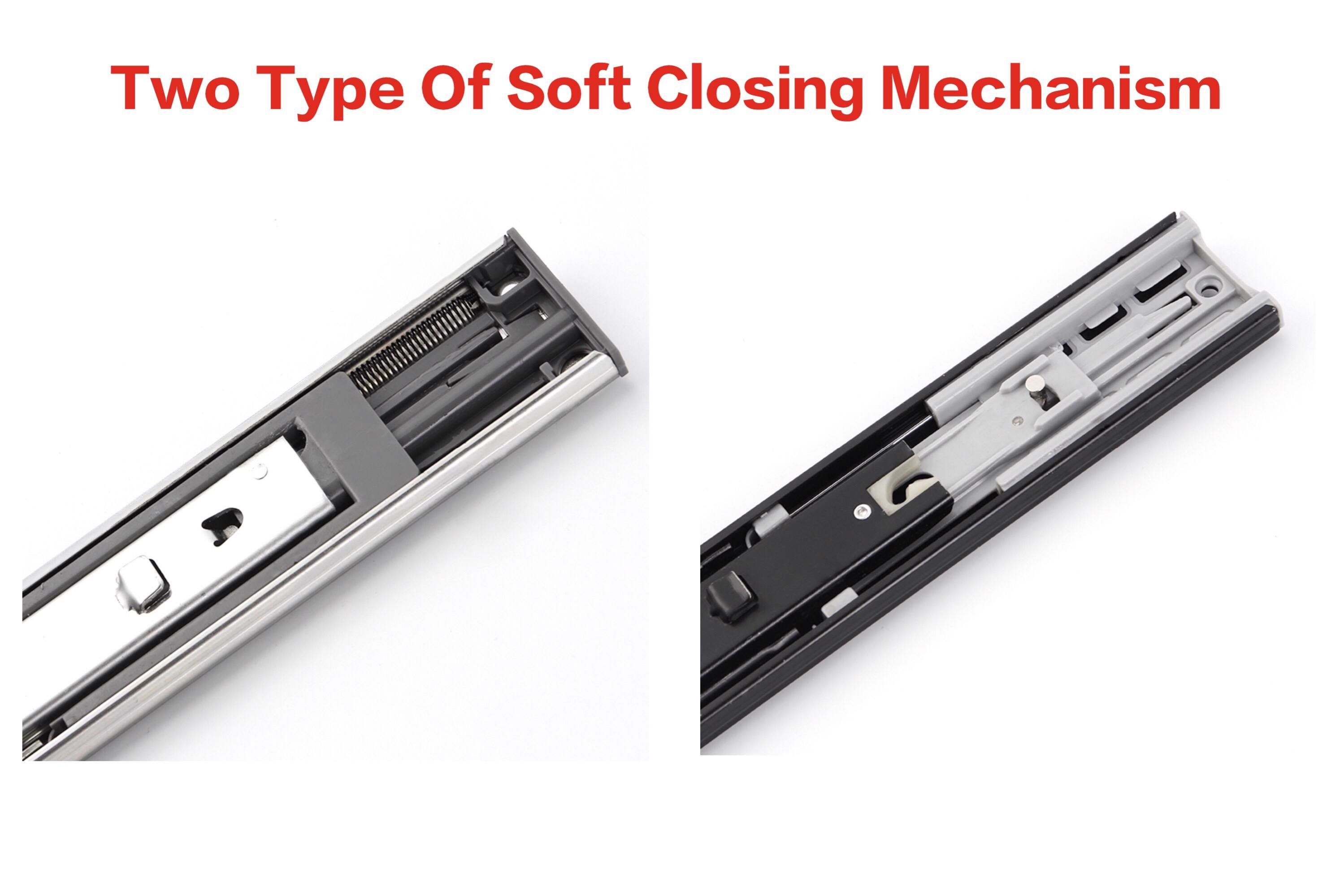 Different Soft Close Mechanisms