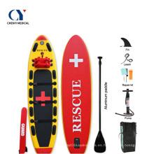 Tabla de surf de las tablas de paddle surf inflables del rescate