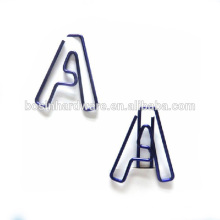Fashion High quality Metal Spring Letter Clip