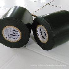 Sistema anticorrosión de PE / cinta de butilo: 25mil * 4in * 400ft (negro)