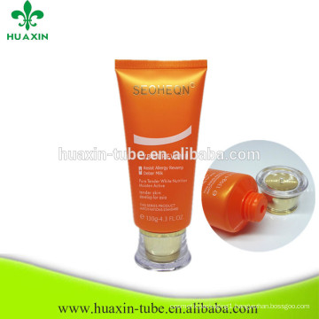 Cosmetic Plastic Packaging Skin Care Pe Tube For Man