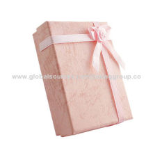 2014 new design cardboard gift boxes, available in various colors, OEM orders are welcome