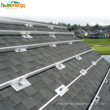 25 Years Warranty Aluminium Alloy or Hot Dip Galvanized Material Rooftop Solar Mounting System