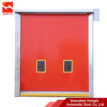 Self repair PVC High Speed Rolling Repaid Door