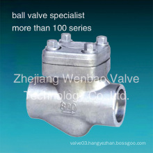 Stainless Steel Forged Check Valve