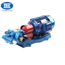 Pompe à huile rotative d'engrenage du transfert 380v d'essence avec la soupape de sûreté