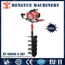 Stahlkopfpfosten-Lochbagger-Erdbohrer mit hoher Qualität