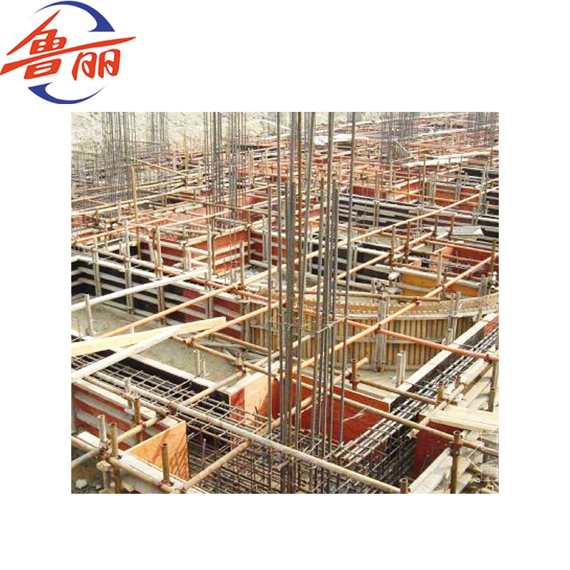 18mm 1220*2440mm Construction Use Film Faced Plywood