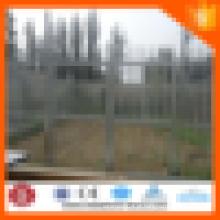 Venda imperdível!! Faça revestimento revestido de PVC Galvanizado Campo Palisade Fence