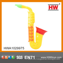 De alta calidad de plástico barato mini juguetes de saxofón