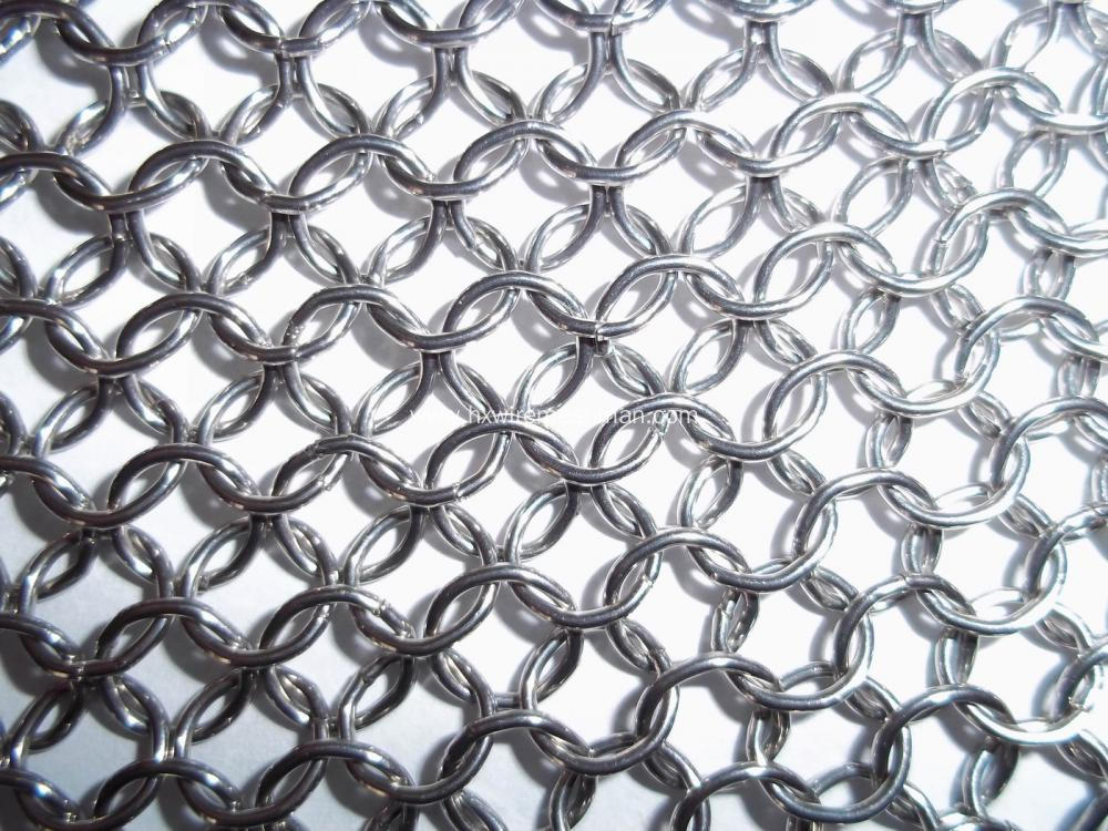 Stainless steel loose chainmail