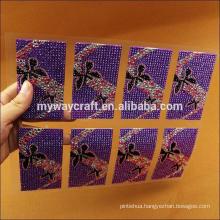 Self-adhesive Acrylic Rhinestone Sheet Stickers