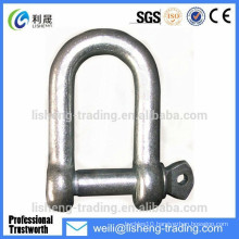 Adjustable D type kenter shackle