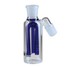 Pipa de cristal de 4 colores para fumar con 3 brazos Perc (ES-GB-222)
