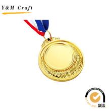 Lembrança de presente promocional Custom Badge Metal Sport Award Medalha de ouro