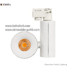 Matt whit 10W led track light with Acrylic cover sharp chips