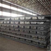 Çelik demiryolu p30 ray 55Q Q235 maden demiryolu