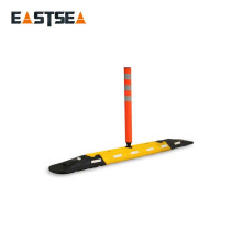 Ali Express With Plastic Delineator Post Recycled Rubber Road Separator