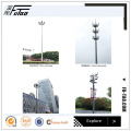 Galvanized High Mast Pole 25m Lighting