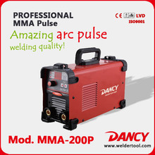 Pulse arc welding vertical up 200AMPS
