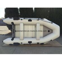 Ce bateau de matériel de pêche gonflable PVC coque