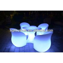 Sofá de LED ao ar livre piscando