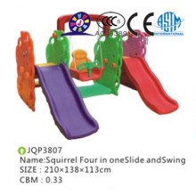 2016 new product Kids cheap plastic indoor slide set