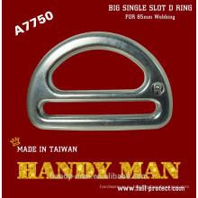 A7750 кованый большой Алюминиевый одиночный Слот D кольцо