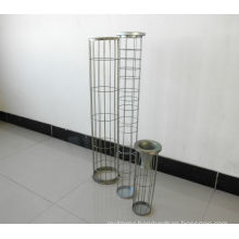 Dust Collector Organo Silicone /Carbon Steel Bag Filter Cage