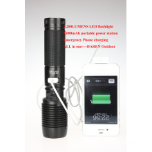 Multi Function LED Flashlight Torch