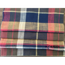 Plaid Cotton Blend Cotton Fabric For Clothing