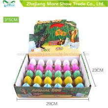 Nueva colorida creciente mascota Dinasour Huevos Huevo Huevo Juguetes 3 * 5 cm