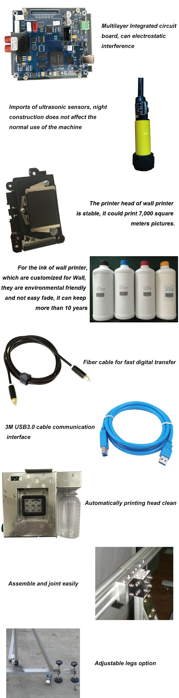 3d Photo Vertical Wall Printing Machine Machine Details