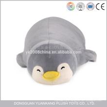 wholesale business soft penguin pillow shaped plush toy