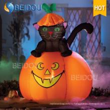 Надувные украшения Надувной Хэллоуин Cat Spirit Призрачный дом Тыква