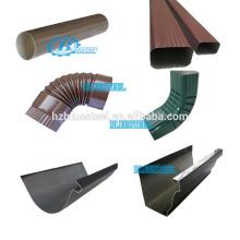 Cepillo de drenaje de metal portátil Codo de bajante Codo sin costura que forma la máquina para el sistema de cobre de lluvia de aluminio
