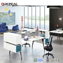 ORIZEAL Contemporary melamine office desk wholesale office workstation table