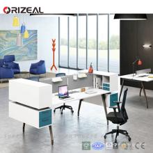 ORIZEAL современный меламин офисный стол оптом офисной рабочей станции стол
