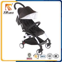 Exportado para a Europa Mercado Folding Baby Doll Carriage