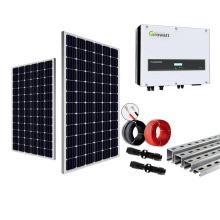 5KW no sistema de energia solar em grade