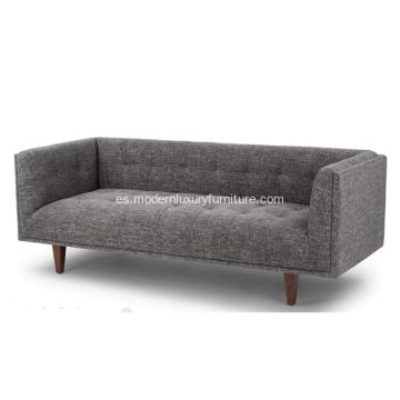 Muebles modernos Cirrus Briar Gray Fabric Sofa