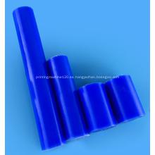 Diámetro 100mm azul/blanco PA6G Bar
