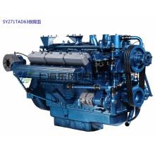 CUMMINS, 12 цилиндров, 243 кВт, Шанхайский дизельный двигатель для генераторной установки,
