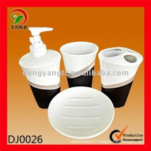4 PCS ceramic bath set