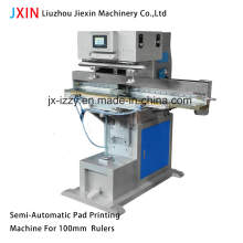 Impressora de almofada de régua semiautomática