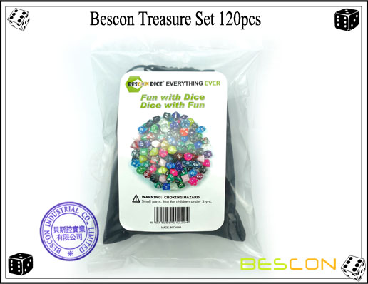 Bescon Treasure Set 120pcs-7