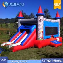 Популярный мини-замок отскока Прыжки надувные Bouncer Bouncy Castle