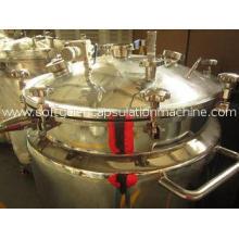 150L Pharmaceutical Gelatin Receiver Tanks / Stock Liquid &