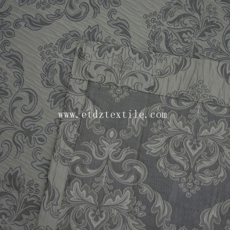 First class new jacquard curtain QZ1537B
